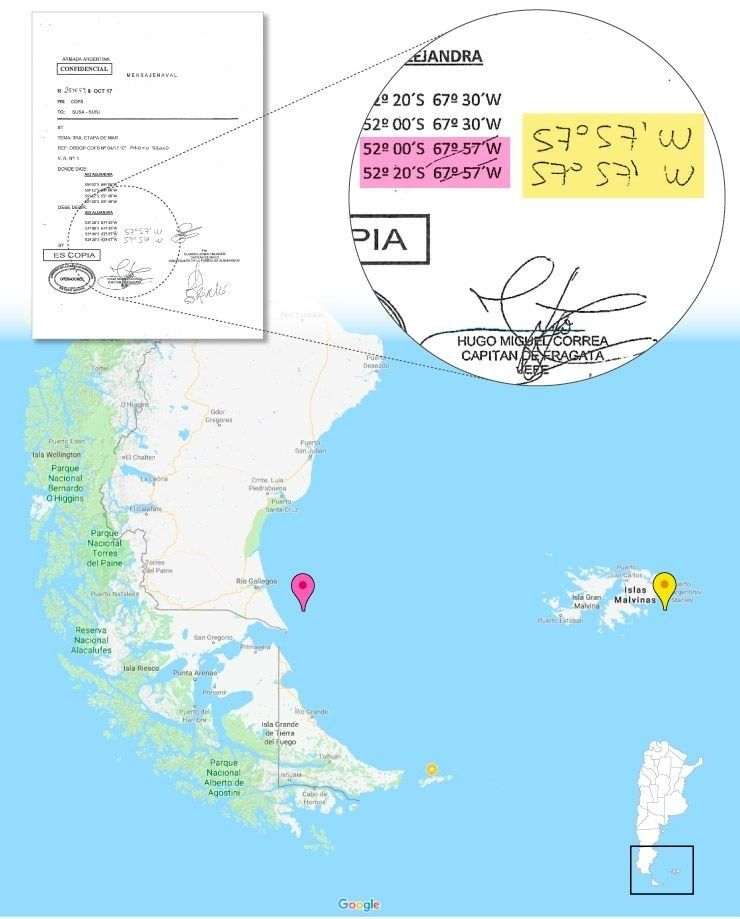 Confirman que desaparecido submarino San Juan pasó cerca de Las Malvinas — Argentina
