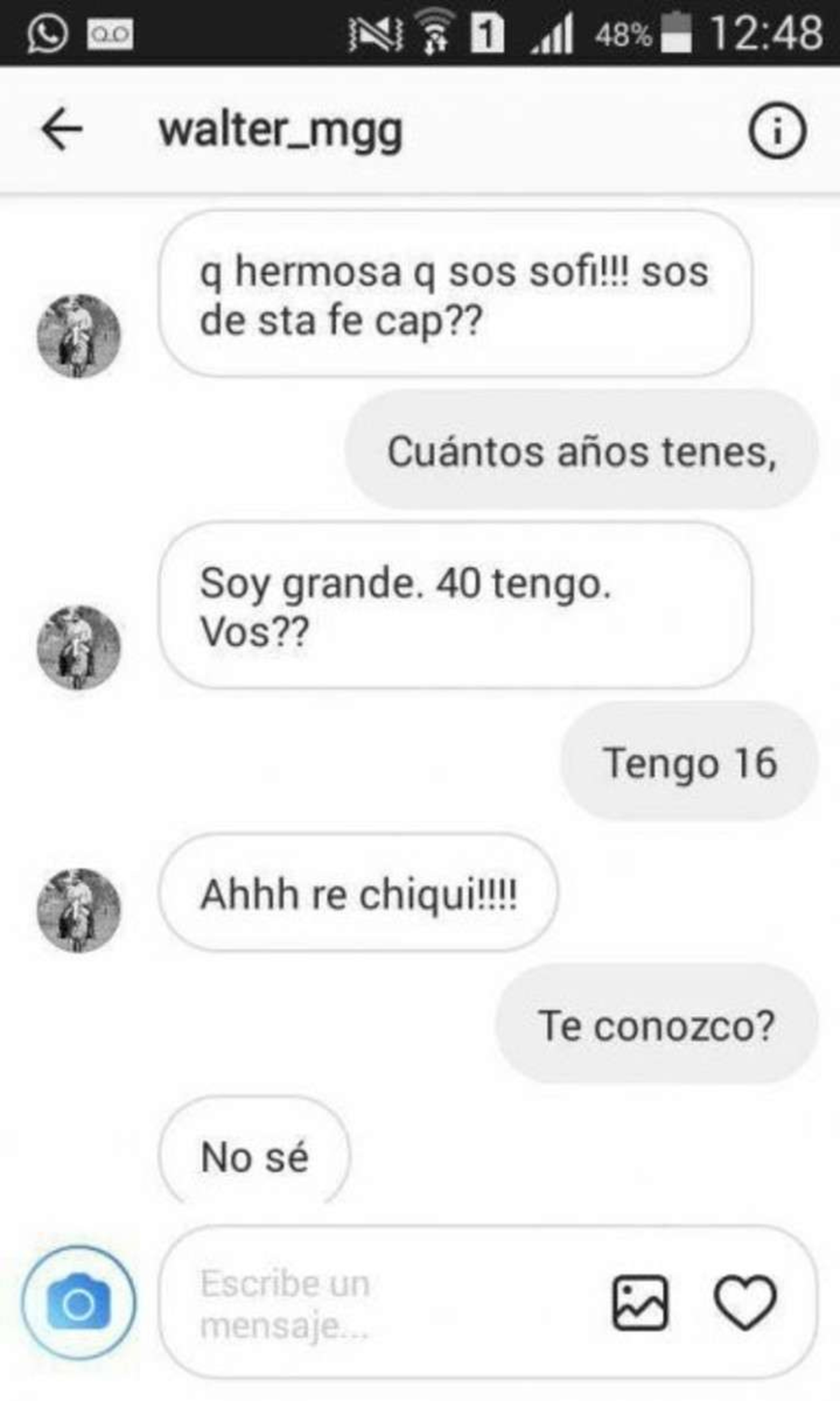 Chat 40 años